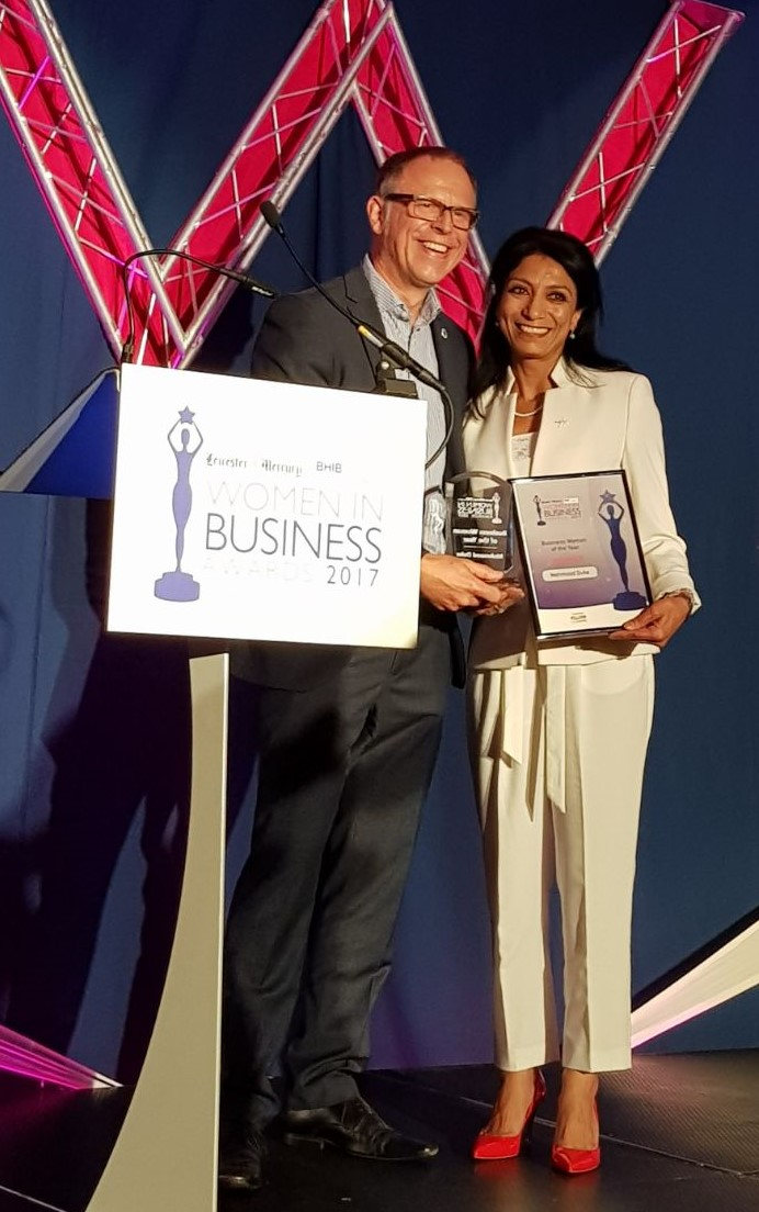 Mehmooda Duke named Business Woman of the Year 2017